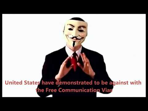 Anonymous Group launches Last Warning (English Subtitles)
