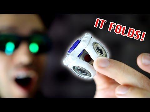 Top 20 BEST FIDGET SPINNERS! *Folding Rare Spinner EDC Toys!* - UCJcycnanWtyOGcz34jUlYZA