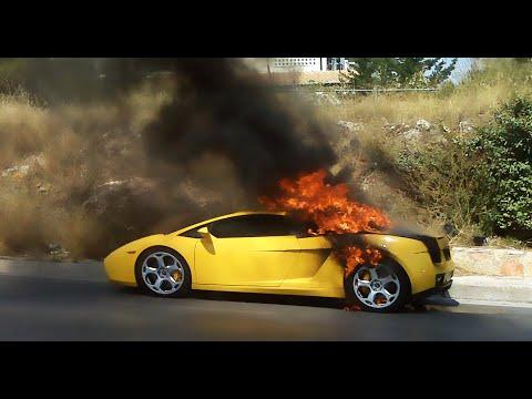 بالفيديو: مقلب ..سيارتك تحترق يدب الرعب في قلوب اصحاب السيارات