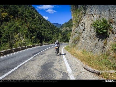 VIDEOCLIP Traseu MTB Muntii Fagaras - TRANSFAGARASAN coborare Piscul Negru - Vidraru - Curtea de Arges [VIDEO]