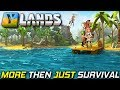 First Look New Survival Mega Game | YLANDS Gameplay EP1