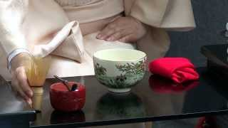 Traditional Japanese culture. Tea ceremony.日本の伝統文化 茶道