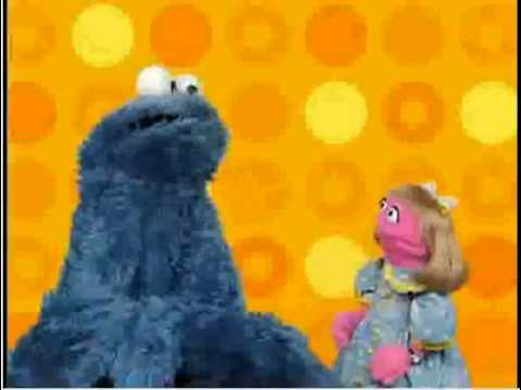 Play With Me Sesame: Cookie Monster and Prairie Dawn Bake Make-Believe Cookies