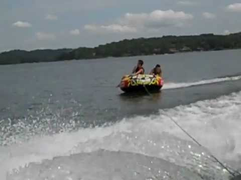 Tube war Noah wipeout Seth Maggie 9/3/12