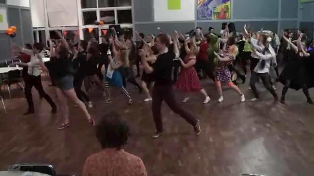 UoY Swing Dance Thriller Stroll