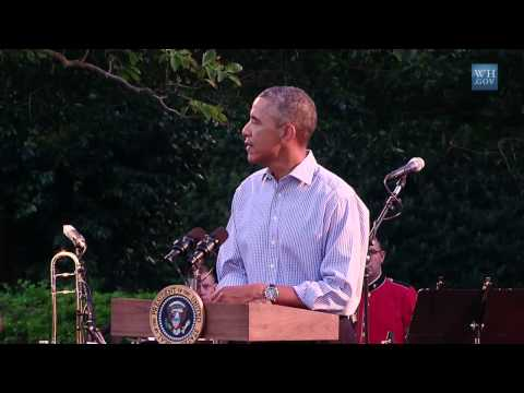 President (Obama) Speaks at the Congressional Picnic  9/17/14