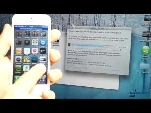 How To Jailbreak Your iPhone 5 on iOS 6 with Evasi0n