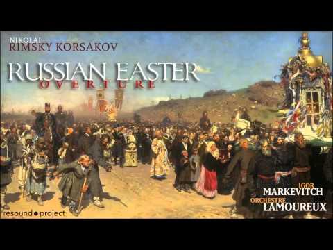 Rimsky Korsakov - Russian Easter Overture - Markevitch, Orch. Lamoureux, 1957