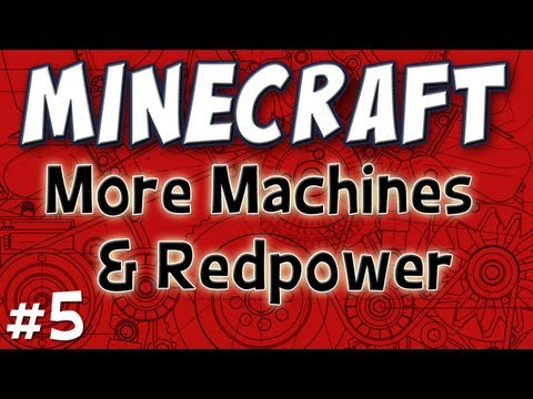 Minecraft - Redpower & More Stuff (Technic Pack Part 5)
