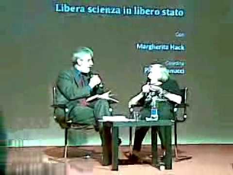 Margherita Hack - Libera Scienza in Libero Stato (1/8)