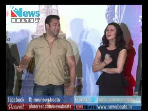 Salman Khan get angry at Ishkq in Paris Music Launch event