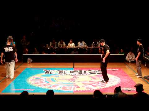 Soulfly &amp; Aden Pop vs. Kaczorex &amp; Lipskee @ Juste Debout 2011, Finland, Popping, Semifinals