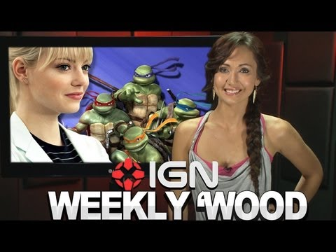 Ninja Turtles Shut Down &amp; Emma Stone Shows No Mercy! - IGN Weekly 'Wood 06.21.12