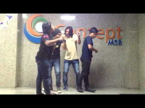setia band cerita hahahihi video clip