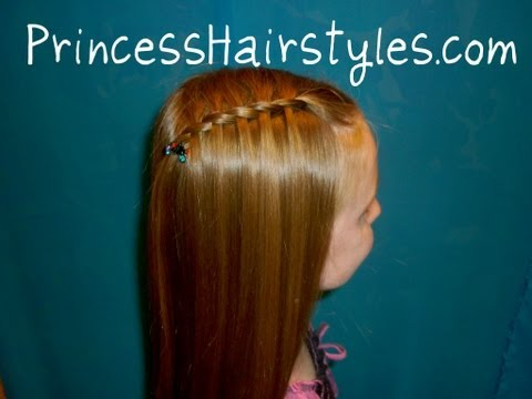 Waterfall French Braid With A Twist - Easy And Quick Hairstyles