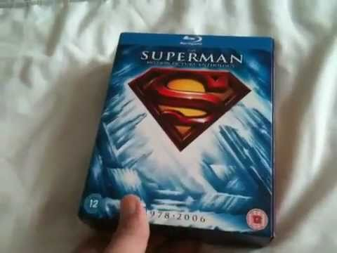 Superman anthology blu-ray unboxing