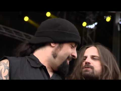The Big 4 - Anthrax - Caught In A Mosh Live Sweden July 3 2011 HD
