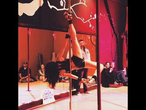 Fifty Shades Of Grey, BDSM Pole Dancing, Heart & Pole, SASS Studio, Crazy In Love - Sophia Karlberg