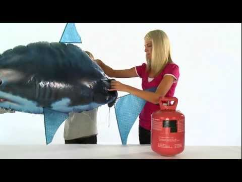 Air Swimmers eXtreme Shark Assembly Instructions - ENG & ITA Captions