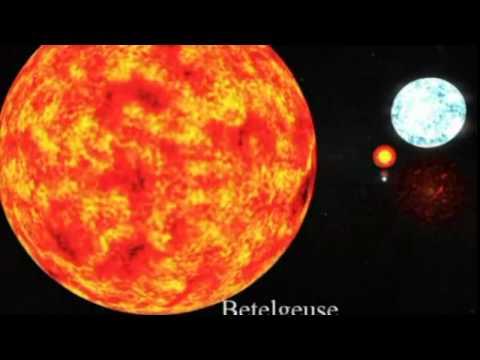 Die größten Sterne im Universum