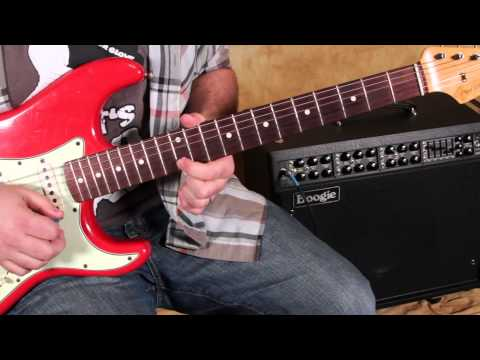 Blues Rock Guitar Solo Lesson - Scales - Pentatonic Scale on One String - blues guitar