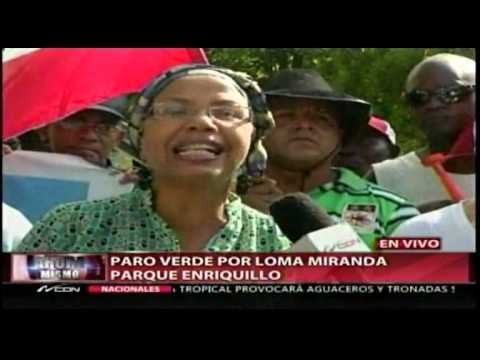 """""""Paro verde"""" por Loma Miranda desde el Parque…"""