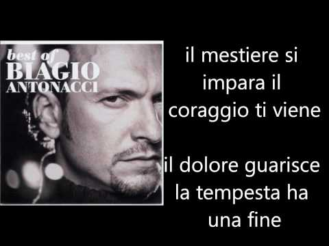Biagio Antonacci - Ti Dedico Tutto Testo Lyrics