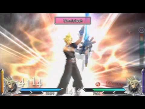 Dissidia 012 Duodecim: Final Fantasy All Ex Bursts (Limit Breaks) in English