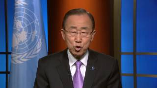 Message of the UN Secretary General to his Scientific Advisory Board