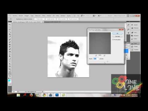 Como poner el efecto de dibujo a una imagen en photoshop CS5