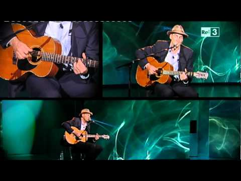 James Taylor - Sweet Baby James/Fire and Rain - Live Acoustic@CheTempoCheFa (2012)
