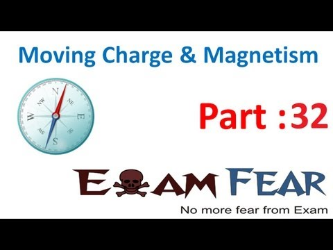 Physics Moving Charge & Magnetism part 32 (Circular current loop as magnetic field) CBSE class 12