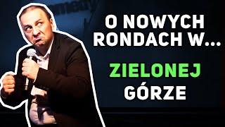 Halama - O nowych rondach w Zielonej Górze (Noc Komedii 2015)