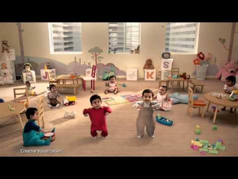 Kit Kat Dancing Babies New TVC India
