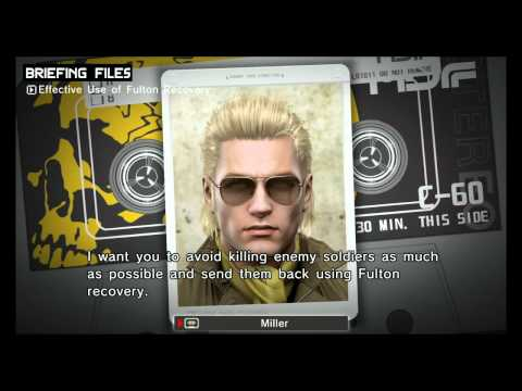 METAL GEAR SOLID: PEACE WALKER HD Gameplay