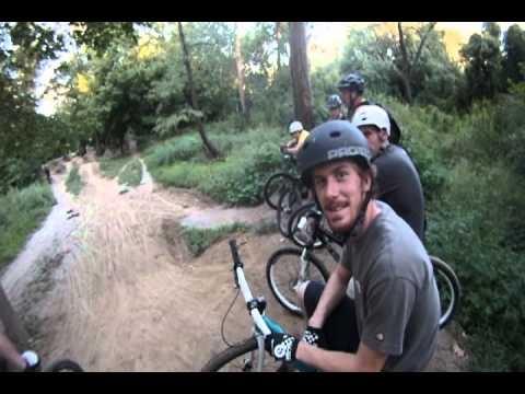 So Co DJ's Mountain Bike Dirt Jump Jumps GoPro