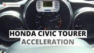 Honda Civic Tourer 1.8 i-VTEC 142 KM - acceleration 0-100 km/h