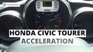 Honda Civic Tourer 1.8 i-VTEC 142 KM - acceleration 0-100 km/h