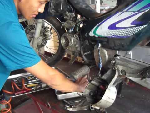Hướng dẫn cách thay xích cam xe máy