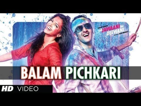 Balam Pichkari - Yeh Jawaani Hai Deewani - Ranbir Kapoor, Deepika Padukone -5M6b8QVnzEA