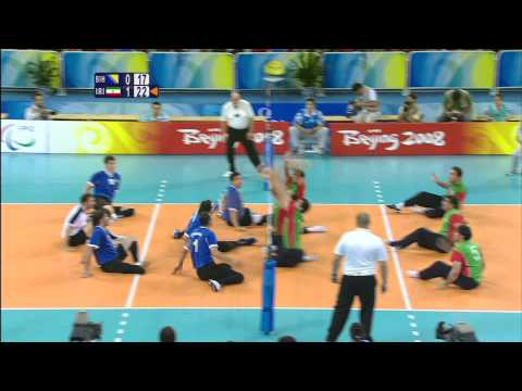 Men's Sitting Volleyball Final Match - Beijing 2008 Paralympic Games