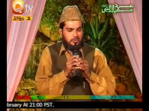URDU NAAT(Kia Shaan Hai)SYED KHALID HUSSAIN IN QTV.BY  Naat E Habib