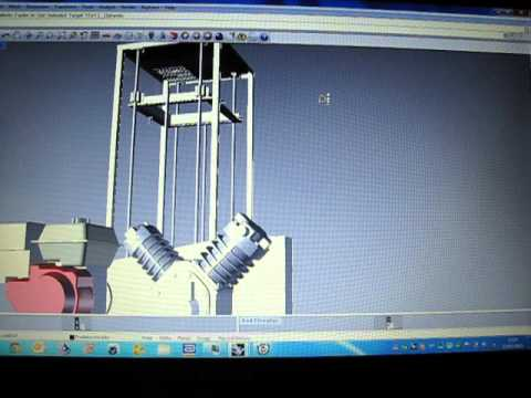Vacuum Forming Machine Plans 3D