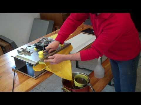 Изготовление вощины своими руками