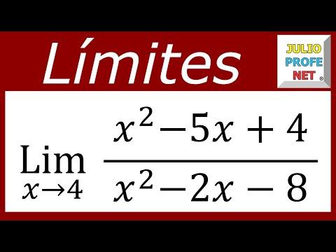 Solución de un límite usando factorización