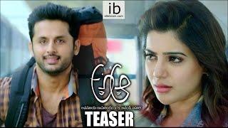 Nithiin - Trivikram's A. Aa.. teaser : A Aa trailer - idlebrain.com