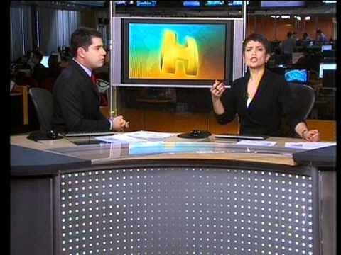 Monalisa Perrone é atacada ao vivo no Jornal Hoje 31/10/2011