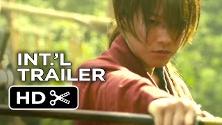 Rurouni Kenshin: Kyoto Inferno Official UK Trailer #1 (2014) - Japanese Live Action Movie HD