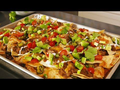 How To Make The Best Nachos Ever | Delish Insanely Easy