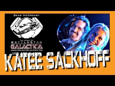 Battlestar Galactica Bear McCreary plays with Katee Sackhoff All Along The Watchtower Live